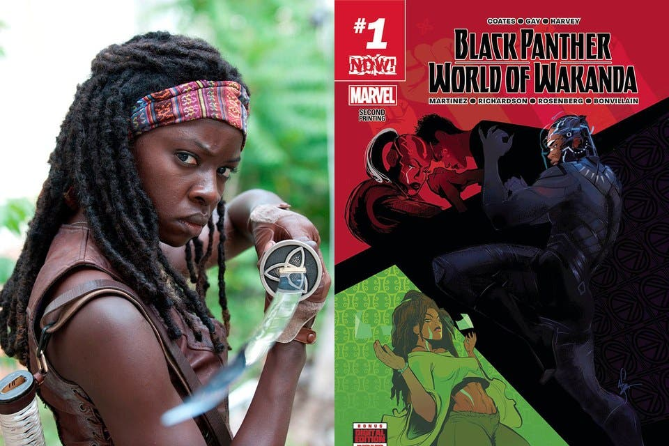 Black Panther romance lésbico