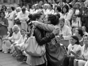 Un día de lesbofobia y acoso
