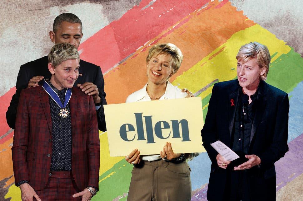 Hace 20 años Ellen DeGeneres salió del armario en su serie y en la vida real y lo ha celebrado así