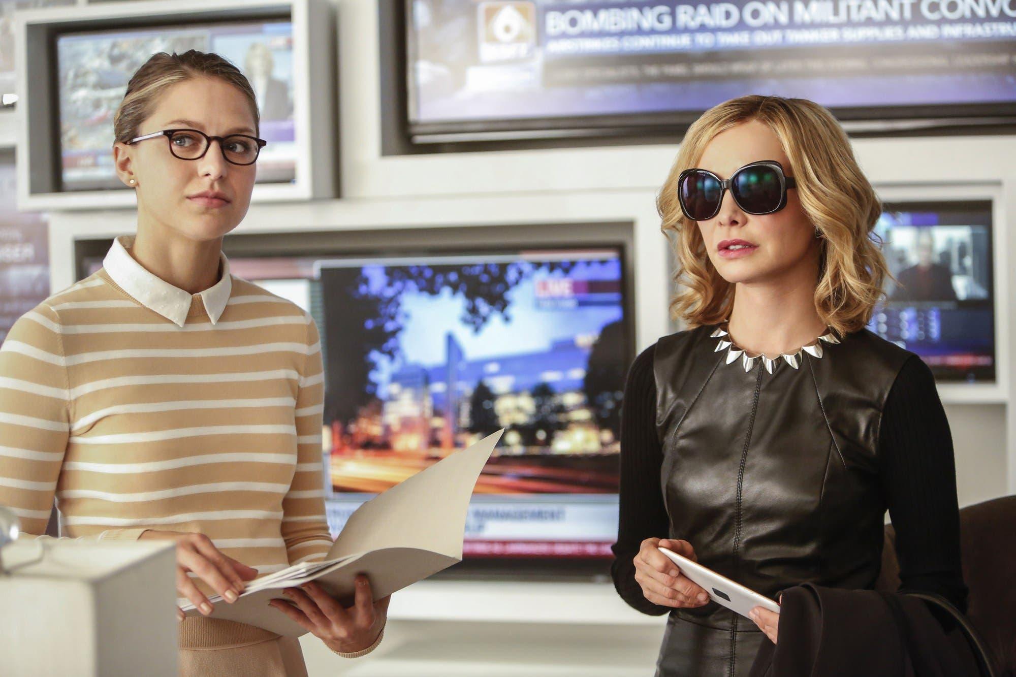 Kara y Cat en Supergirl