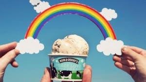 Ben & Jerry's no venderá bolas de helado del mismo sabor hasta que se apruebe el matrimonio igualitario