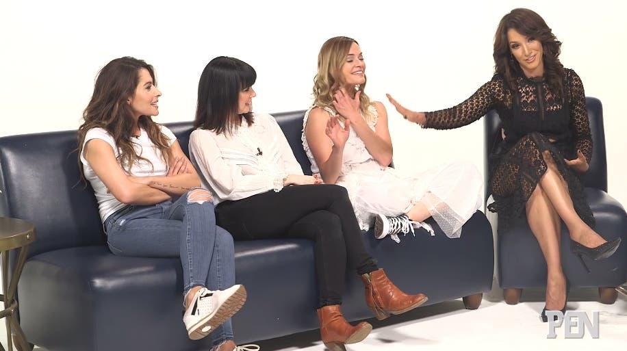 Mia Kishner, Sarah Shahi, Leisha Hailey y Jennifer Beals
