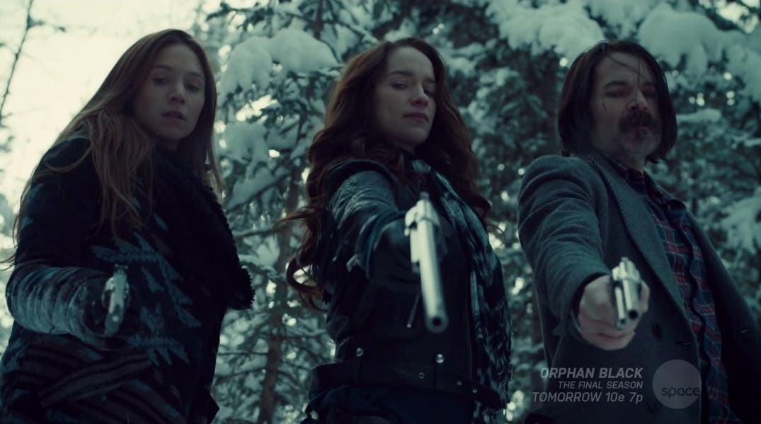 Wynnona Earp disparando