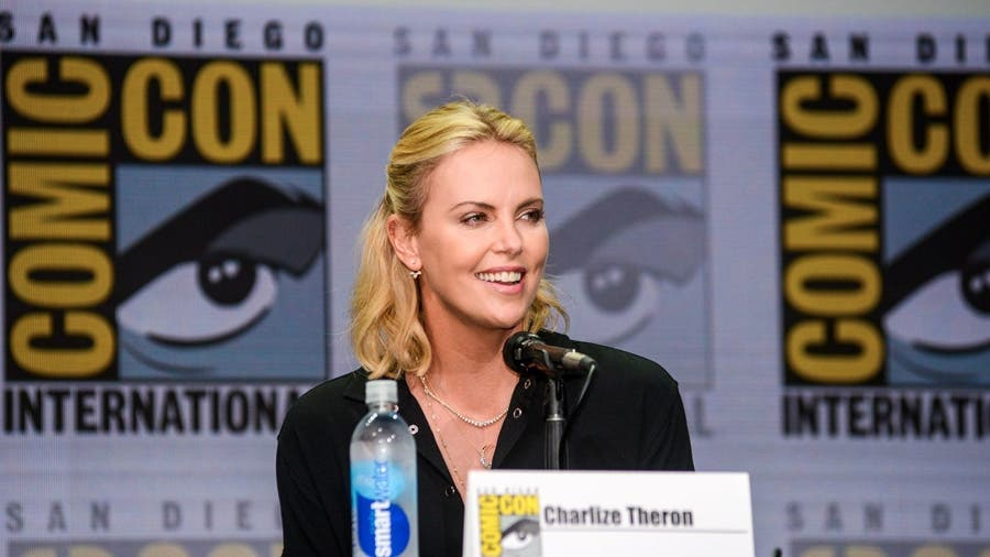 Charlize Theron Comic Con 2017