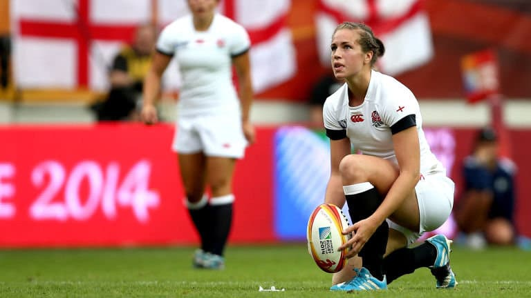 Emily Scarrett jugadora de Rugby