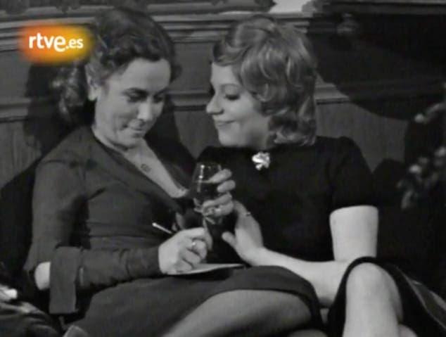 Teresa y Carmen pareja lésbica Entre Visillos