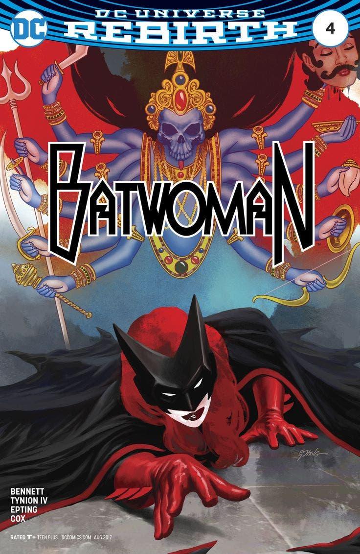 Batwoman 4 portada
