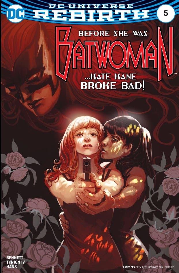 Batwoman 5 portada