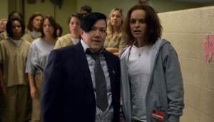 Orange Is The New Black resumen de episodio 5×08 Tied to the tracks