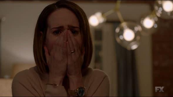 Ally llorando por Trump