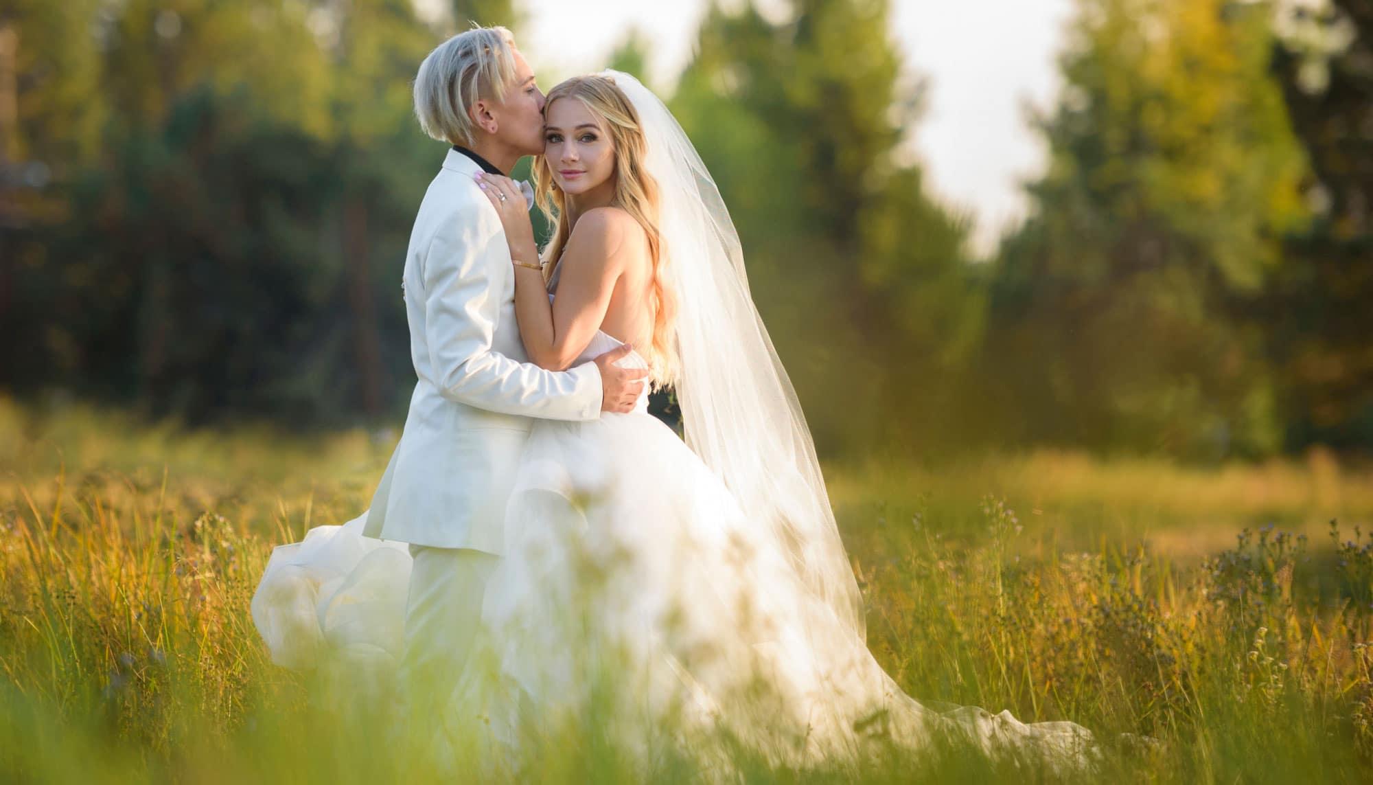 La chica Disney Mollee Gray se casa