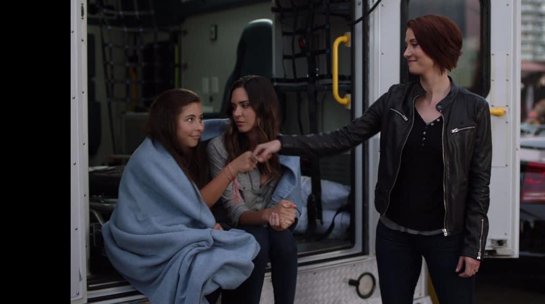 Alex hablando con Sam y Ruby