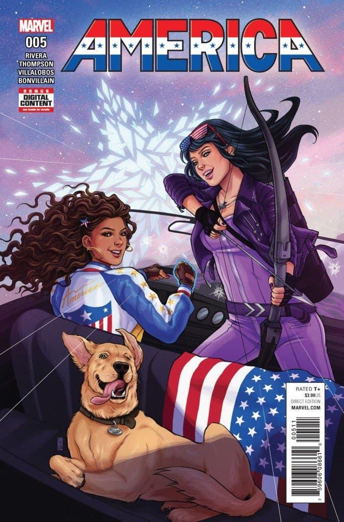 América Chavez 5 portada