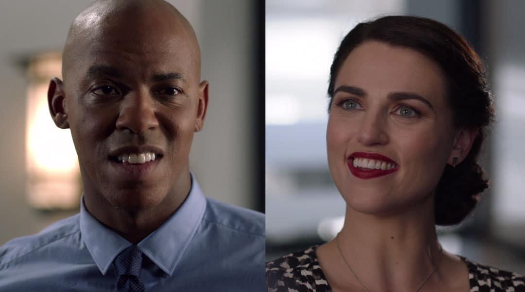 James y Lena retándose