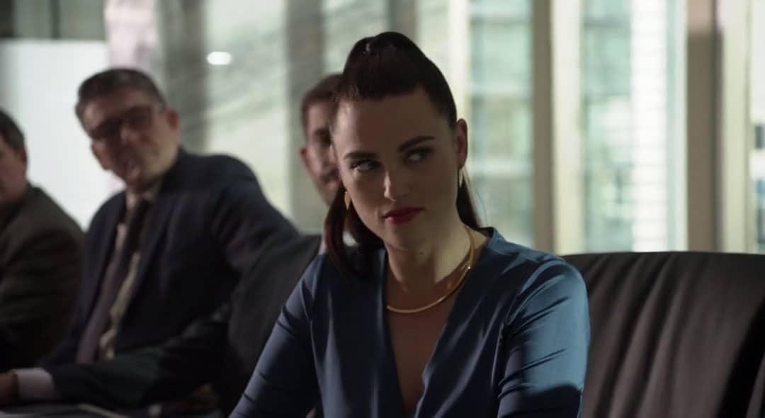 Lena Luthor cabreada