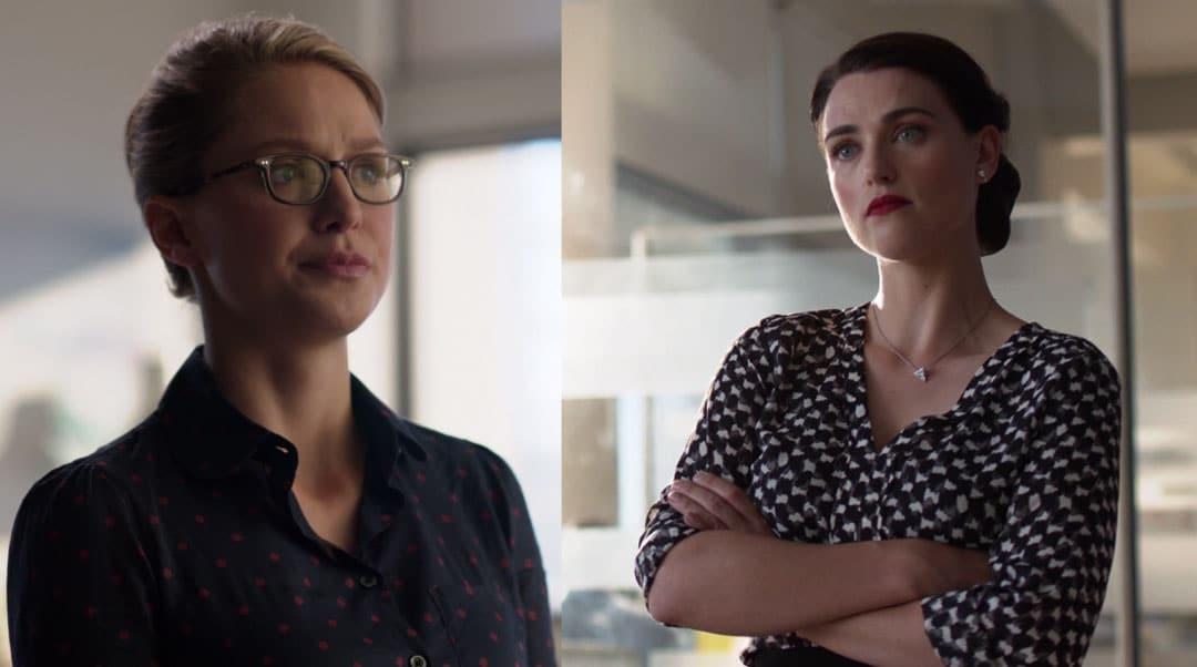 Lena y Kara discutiendo