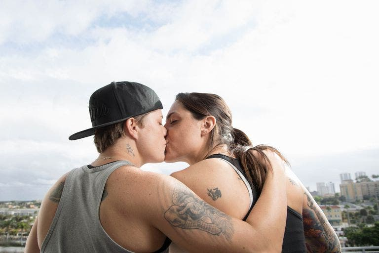 lesbians in maine