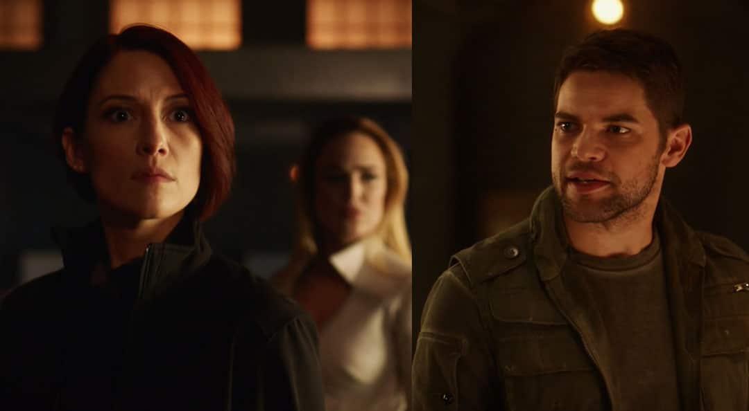 Alex y Sara se encuentran con Winn