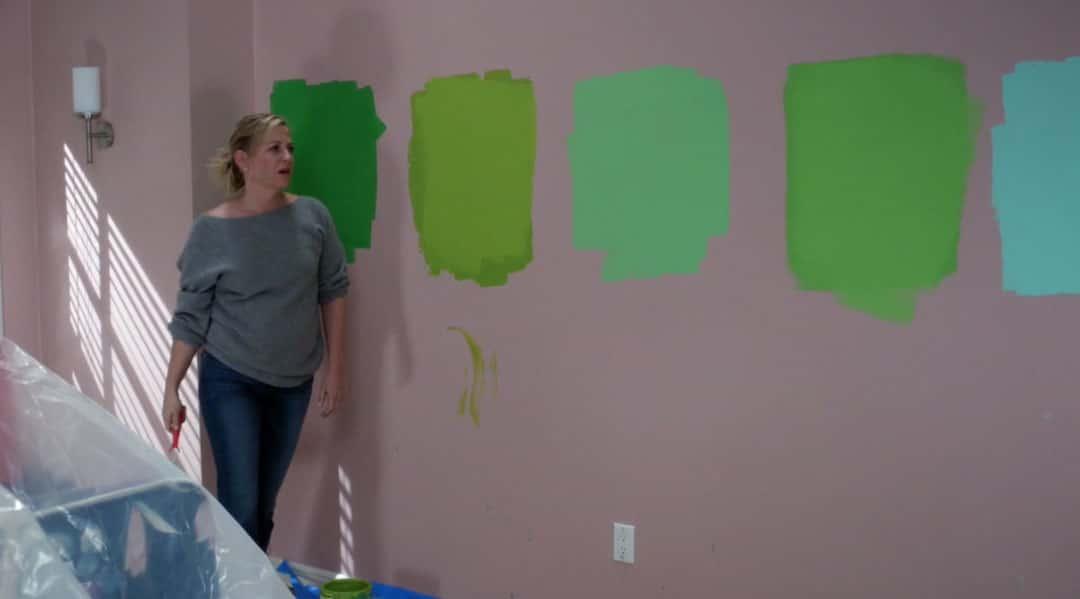 Arizona pintando el cuarto de Sofia