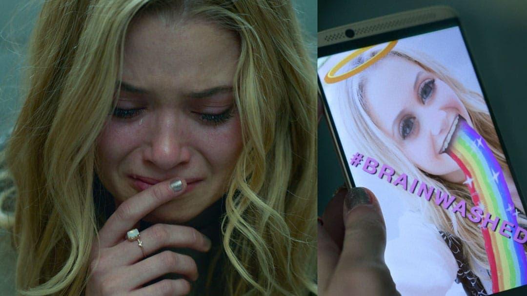 Karolina llorando en Runaways