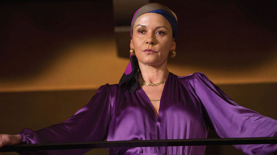 Catherine Zeta-Jones será la bisexual «Madrina de la Cocaína»