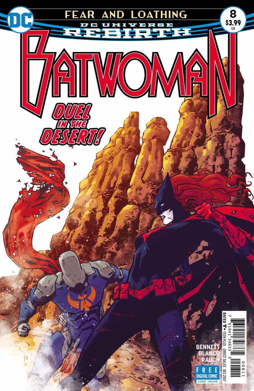 Batwoman 8 Portada