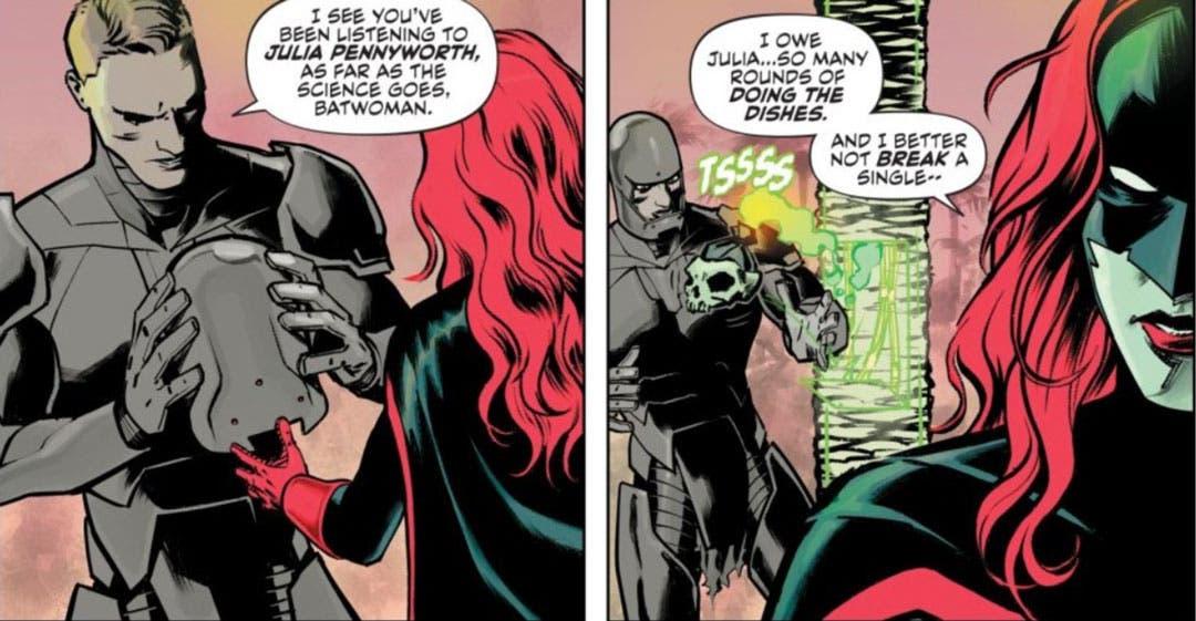 Batwoman y Colony Prime