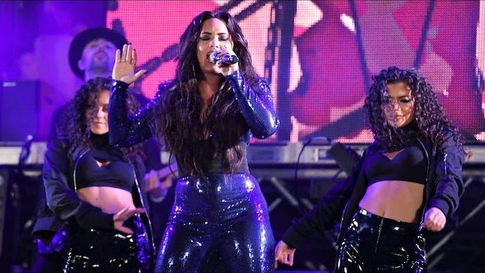 Demi Lovato nos regala el primer momento lesbicanario del 2018