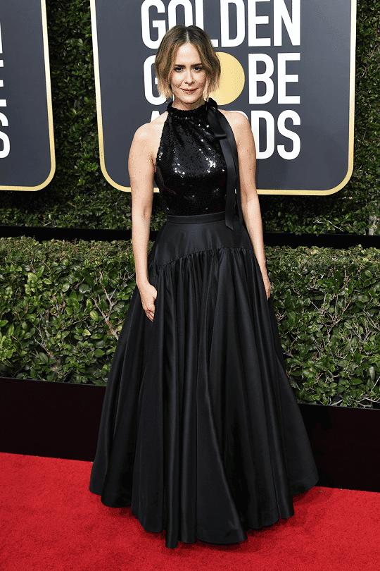 Sarah Paulson Globos de Oro 2018