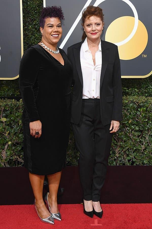 Susan Sarandon y Rosa Clemente
