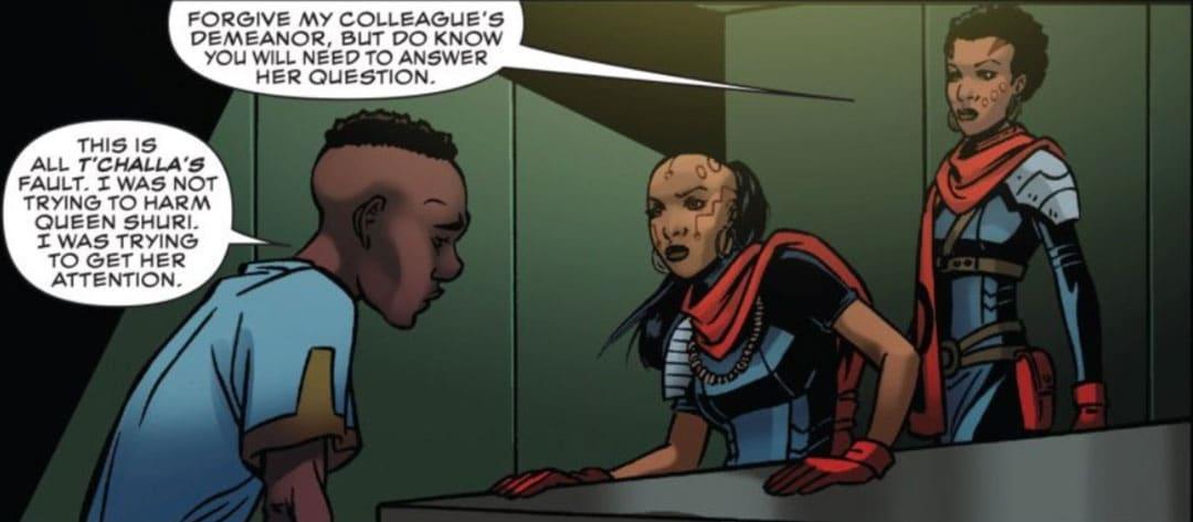 Aneka y Ayo interrogando