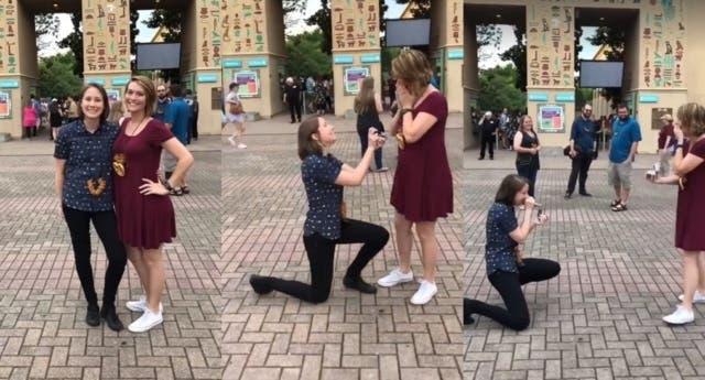 Cuando esta chica lesbiana le pidió matrimonio a su novia ¡no esperaba esta respuesta!