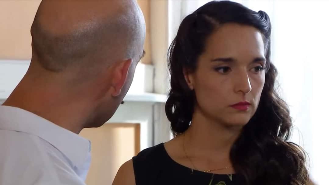 Barbara discutiendo con Nicanor