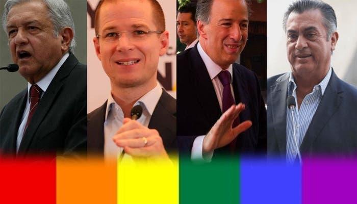 Los presidenciables de México no tienen una agenda LGBTI