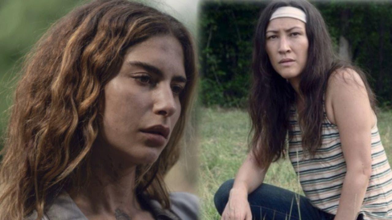 Magna y Yumiko la nueva pareja lésbica de The Walking Dead