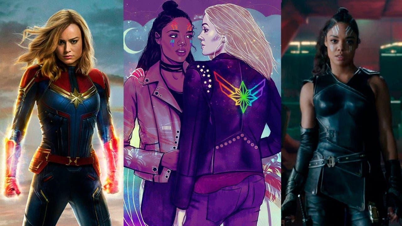 Queremos a Capitana Marvel con Valkyrie en Avengers Endgame