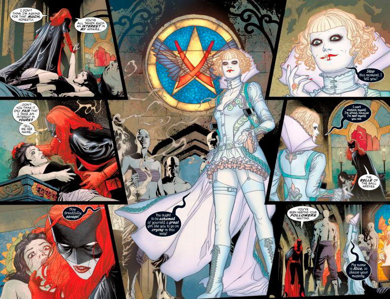 Alice en Batwoman cómic