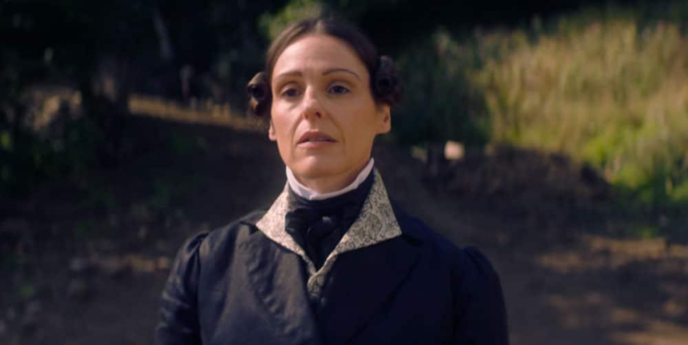 Anne Lister en el campo
