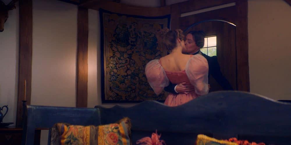 beso lésbico Gentleman Jack