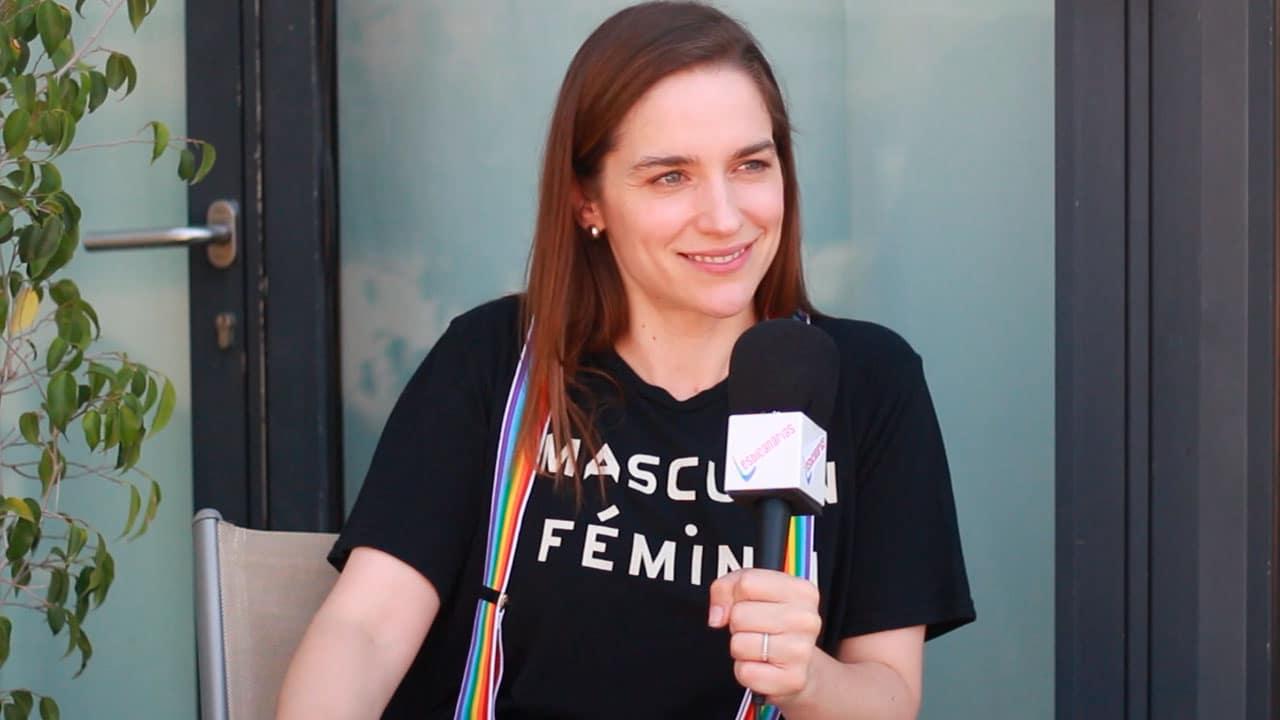 Entrevistamos a Melanie Scrofano en el LOVE Fan Fest 2019