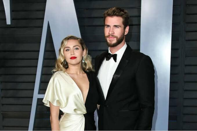 Miley Cirus y Liam Hemsworth