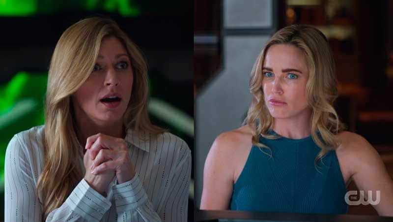 Sara y Ava en Legends of Tomorrow