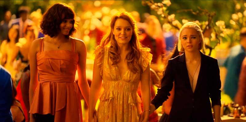 Tally, Raelle y Abigail
