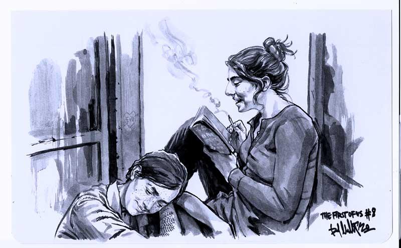 Dina y Ellie por kopfstoff