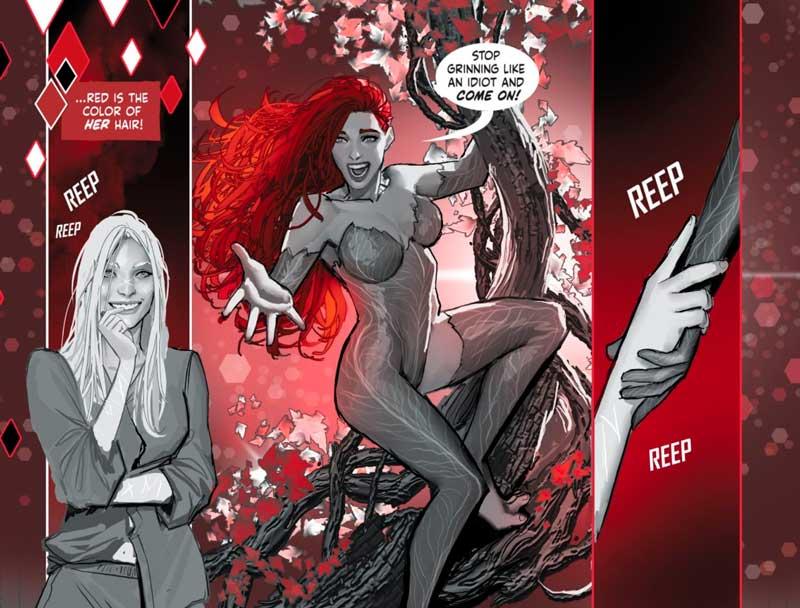 Poison Ivy salva a Harley Quinn