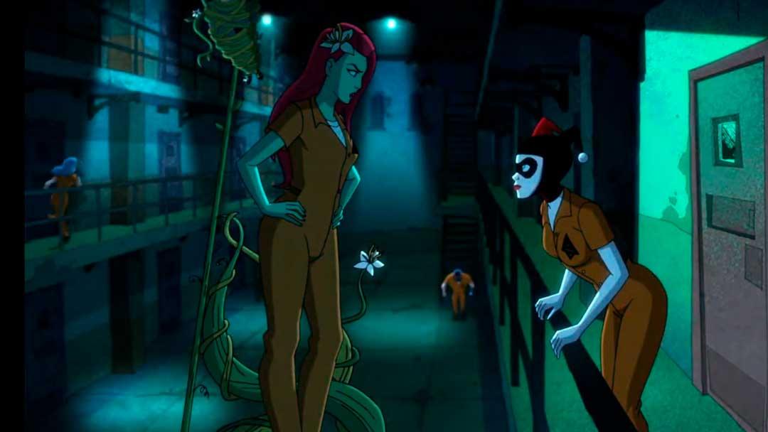Harley Quinn y Poison Ivy discutiendo
