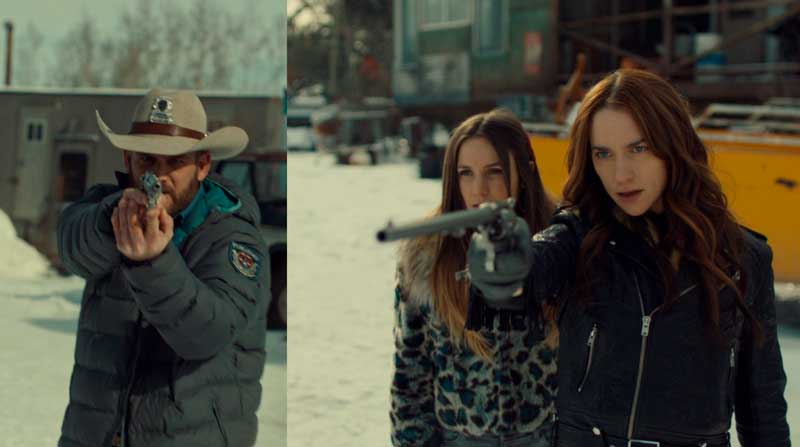 Waverly y Wynonna contra el Sheriff